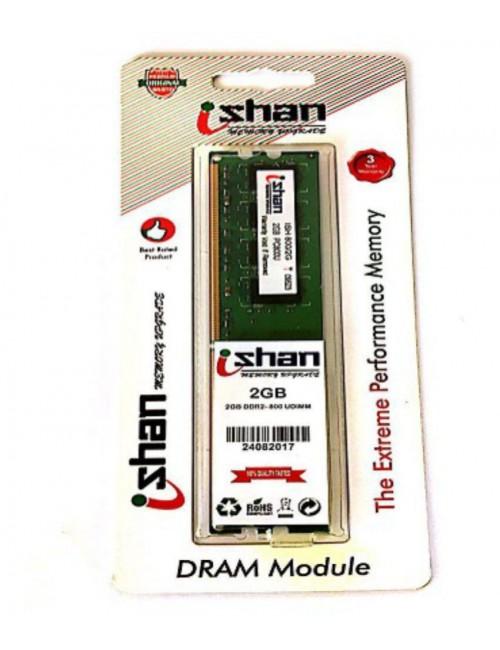 ISHAN RAM 2 GB DDR2 DESKTOP 667 MHz