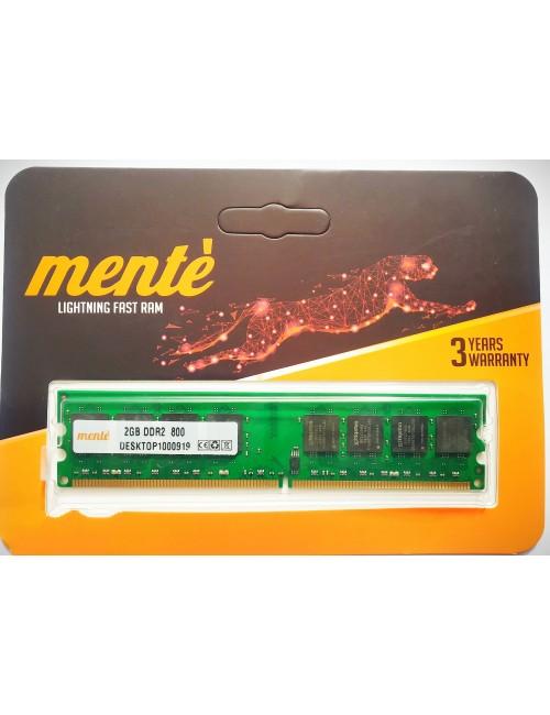 MENTE RAM 2GB DDR2 DESKTOP 800 MHZ
