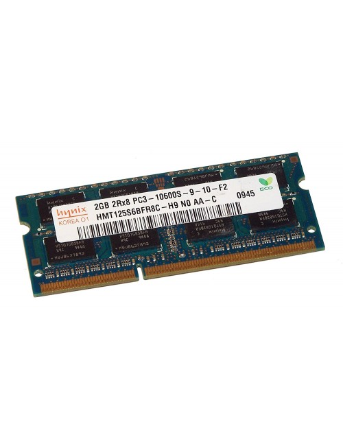 RAM 2 GB DDR3 LAPTOP 1333 / 1600 MHz