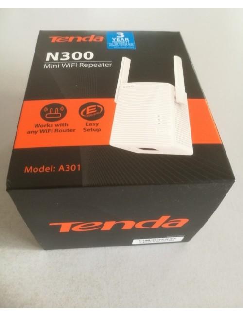TENDA 300 MBPS RANGE EXTENDER A301