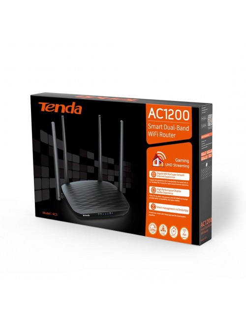 TENDA 300 MBPS WIRELESS DUAL BAND ROUTER AC5