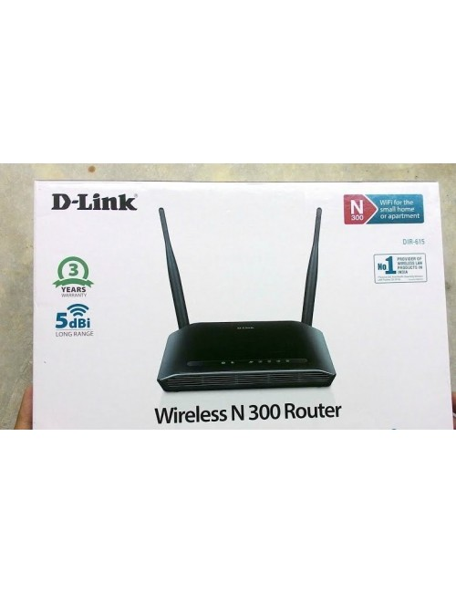 D LINK 300 MBPS WIRELESS ROUTER DIR 615N