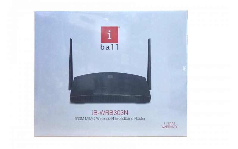 IBALL 300 MBPS WIRELESS ROUTER N303