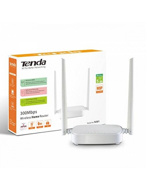 TENDA 300 MBPS WIRELESS ROUTER N301