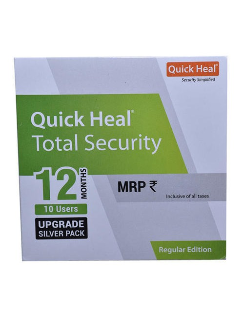 QUICK HEAL TOTAL SECURITY RENEWAL TR10UP (10 USER 1 YEAR)