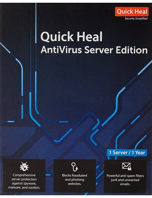 QUICK HEAL SERVER EDITION 1 USER 1 YEAR ER1