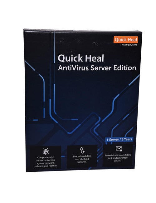 QUICK HEAL SERVER EDITION 1 USER 3 YEARS ES1