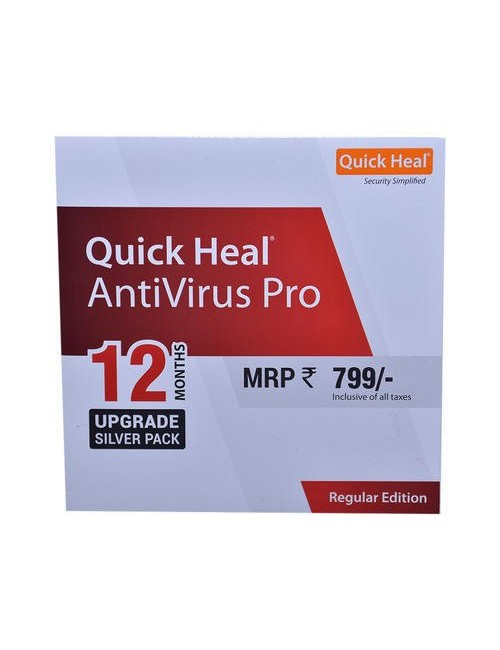 QUICK HEAL ANTIVIRUS PRO RENEWAL LR1UP (1 USER 1 YEAR)