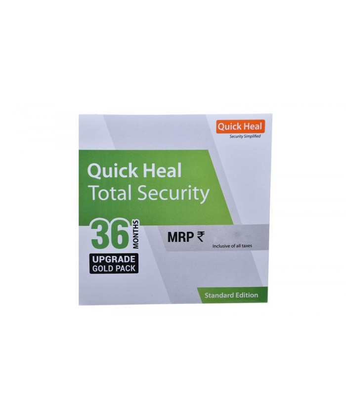 QUICK HEAL TOTAL SECURITY RENEWAL TS5UP (5 USER 3 YEAR)