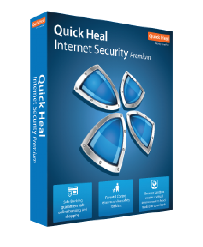 QUICK HEAL INTERNET SECURITY IR2 (2 USERS 1 YEAR)