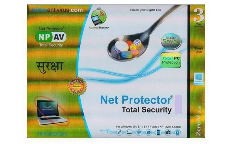 NET PROTECTOR GOLD TOTAL SECURITY 1 USER 3 YEAR