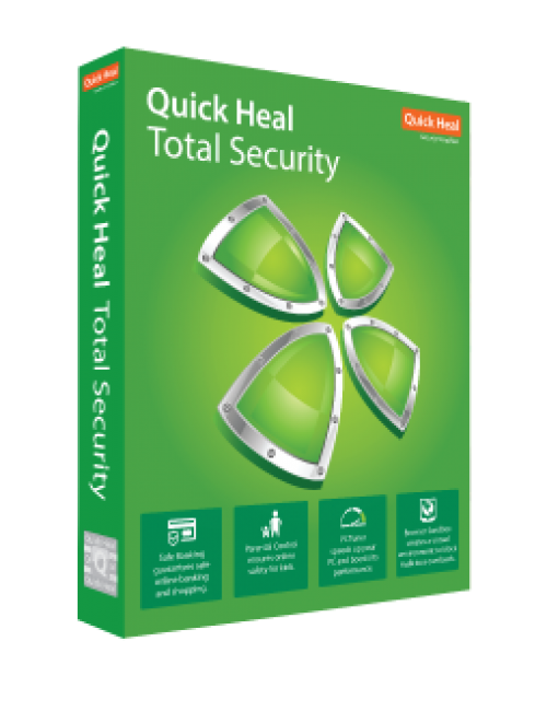 QUICK HEAL TOTAL SECURITY TR1 (1 USER 1 YEAR)