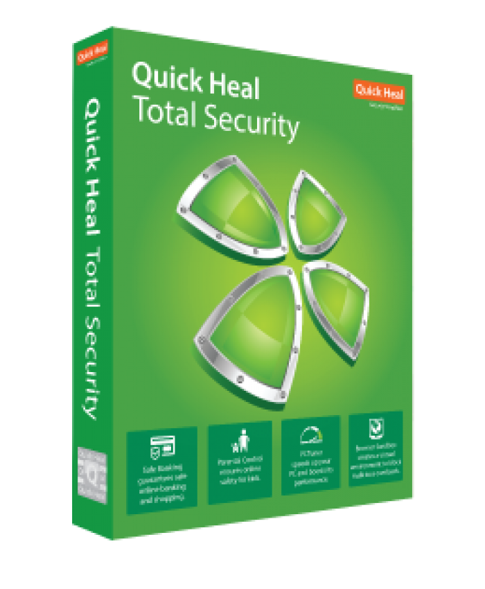 QUICK HEAL TOTAL SECURITY TR5 (5 USERS 1 YEAR)