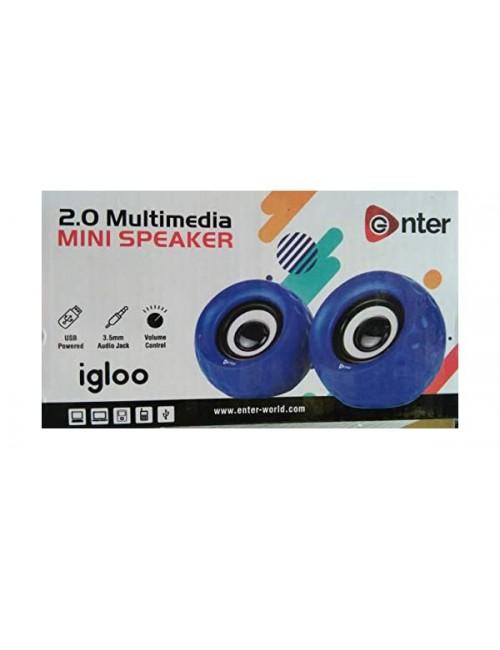 ENTER USB SPEAKER 2.0 (IGLOO)