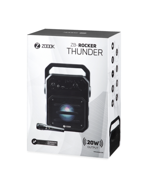 ZOOOK BLUETOOTH SPEAKER 1.0 ZB-ROCKER THUNDER