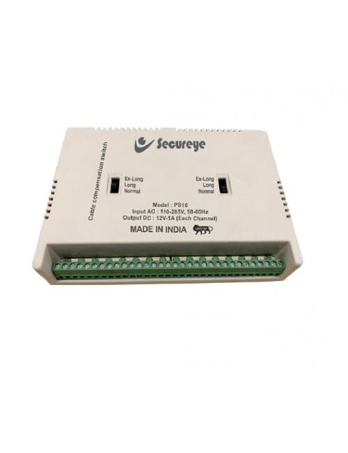 POWER SUPPLY SECUREYE 16 CHANNEL FIBER (1600-IB)