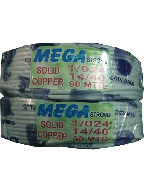 CCTV CABLE 3+1 MEGA STRONG (90 METRE)