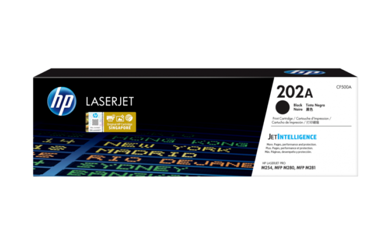 HP TONER CARTRIDGE LASER JET 202A BLACK (ORIGINAL)