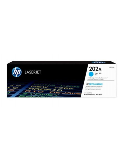 HP TONER CARTRIDGE LASER JET 202A CYAN (ORIGINAL)