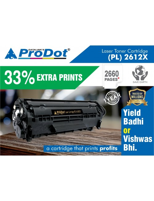 PRODOT COMPATIBLE LASER CARTRIDGES PLH-2612X