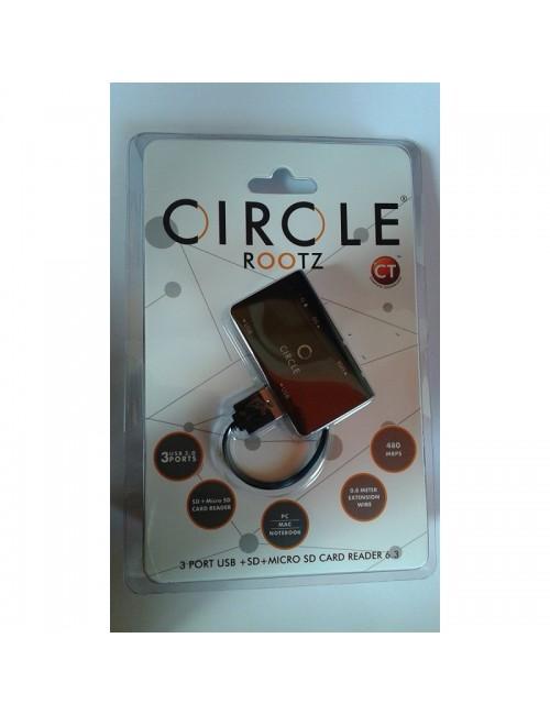 CIRCLE  USB HUB  + CARD READER (ROOTZ 6.3)