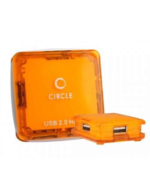 CIRCLE 4 PORT USB HUB 2.0 (ROOTZ 4.3)