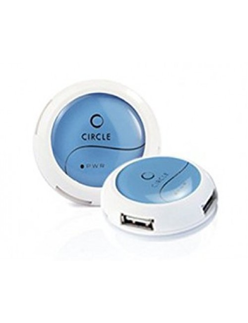 CIRCLE 4 PORT MOBILE USB HUB 2.0 (ROOTZ 4.2)