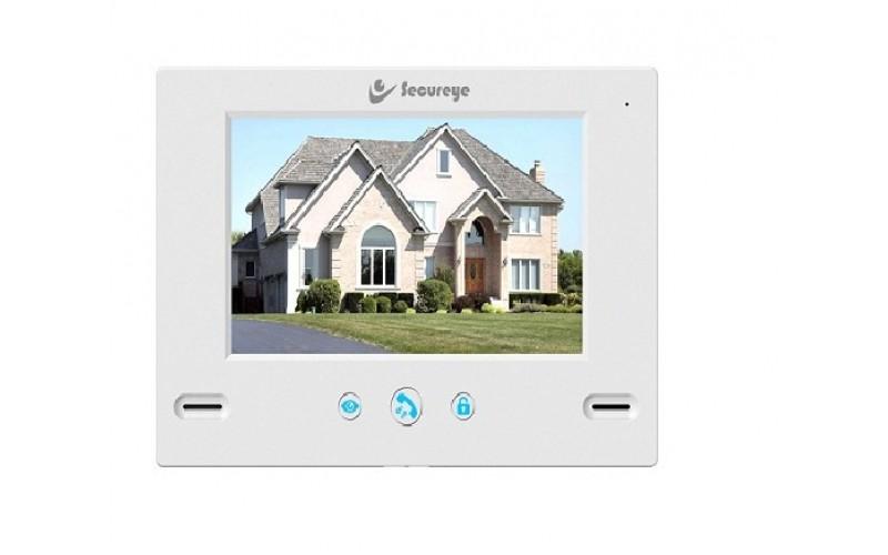 SECUREYE VIDEO DOOR PHONE WITH 7 INCH LCD SCREEN S-VDP10