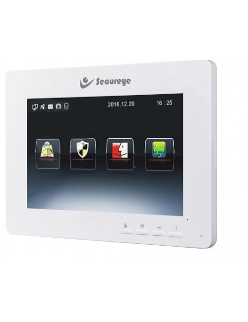 SECUREYE VIDEO DOOR PHONE WITH 7 INCH LCD SCREEN S-VDP9