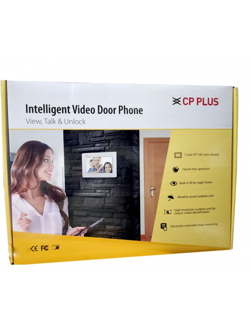 CP PLUS VIDEO DOOR PHONE WITH 7 INCH (CP-PVK-70MH)