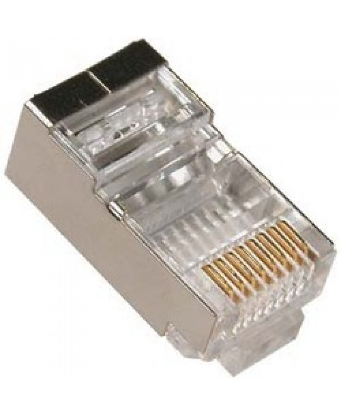 MULTYBYTE RJ45 CONNECTOR (STP) (PACK OF 100 PCS)