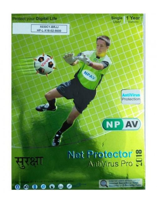 NET PROTECTOR ANTIVIRUS PRO 1 YEAR 1 USER