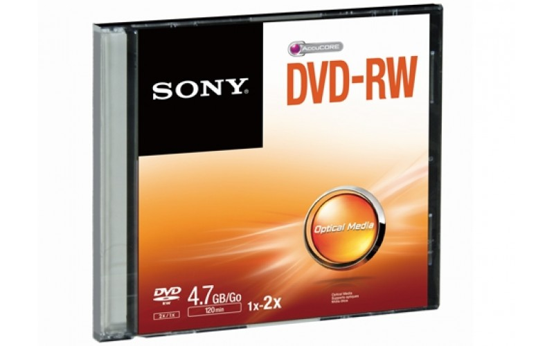 SONY DVD/RW PACK OF 10