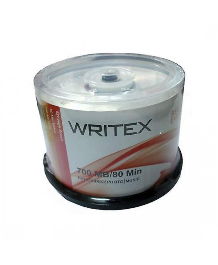 WRITEX CD-R PACK OF 50