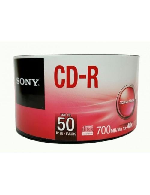 SONY CD/R PRINT PACK OF 50