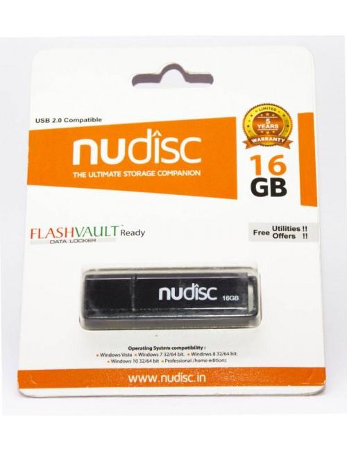 NUDISC PENDRIVE 16 GB 2.0