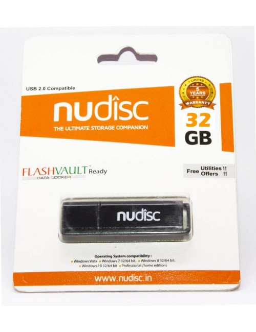 NUDISC PENDRIVE 32 GB 2.0