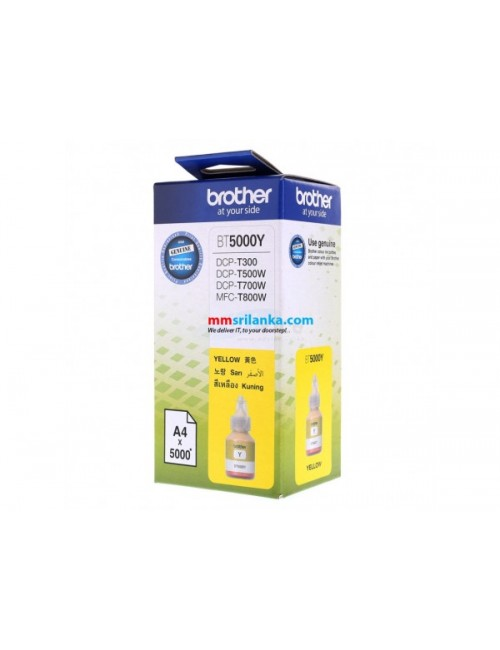BROTHER INKJET INK (YELLOW) BT 5000