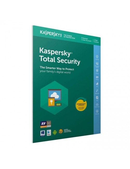 KASPERSKY TOTAL SECURITY 1 USER / 1YEAR