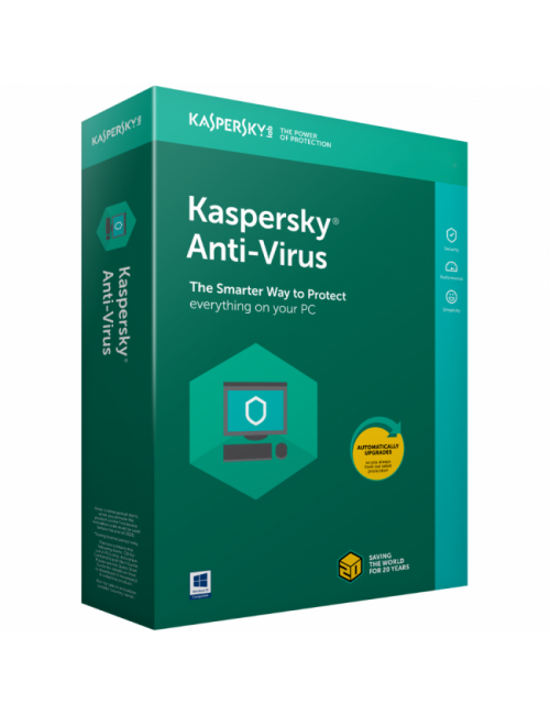 KASPERSKY ANTIVIRUS 3 USER / 1YEAR