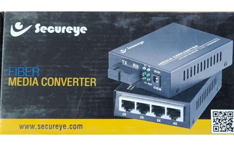 SECUREYE MEDIA CONVERTOR S-SMSF-FE 10/100 (PAIR)
