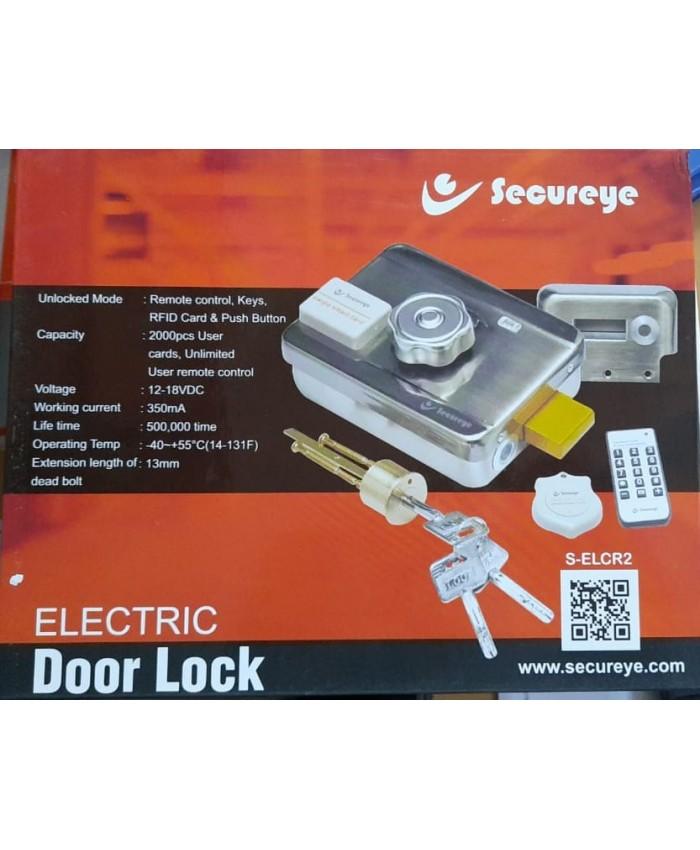 SECUREYE ELECTRIC DOOR LOCK (WITH REMOTE) S-ELCR
