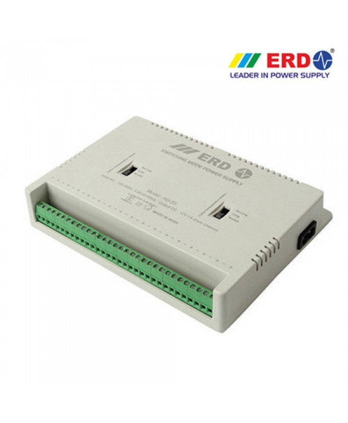 POWER SUPPLY ERD 16 CHANNEL (AD-33)