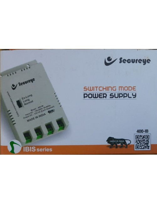 SECUREYE POWER SUPPLY 4CH FIBER