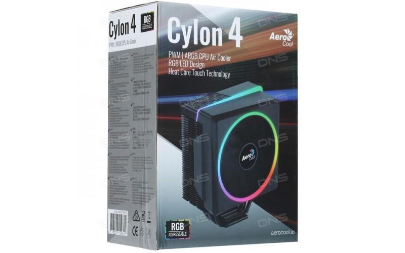 AEROCOOL CPU FAN RGB AIR COOLER (CYLON4)