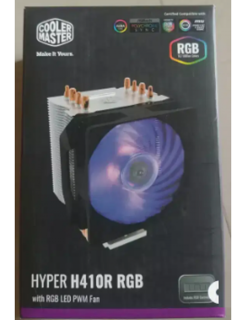 COOLER MASTER AIR CPU FAN (HYPER H410R RGB)