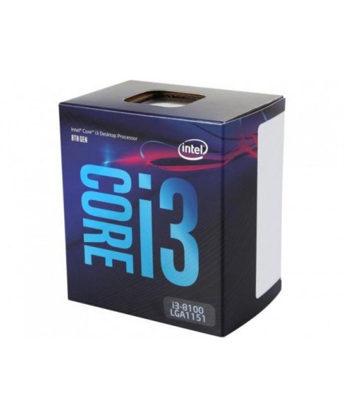 INTEL 8TH GEN i3-8100