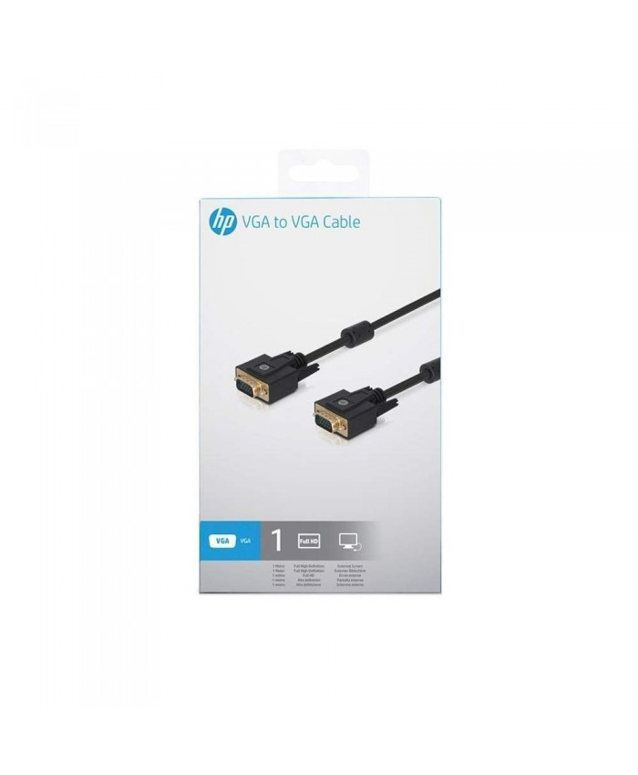 HP VGA TO VGA (MALE TO MALE) 1M CABLE