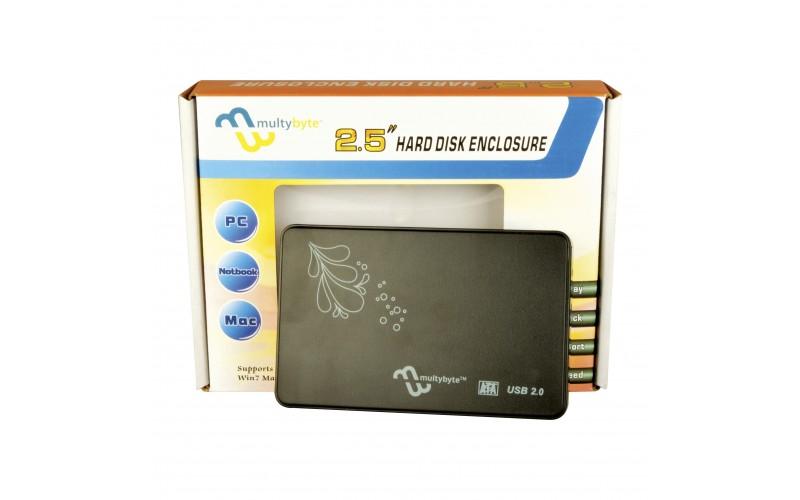 "MULTYBYTE SSD HDD SATA CASING 2.5"" (METAL)"
