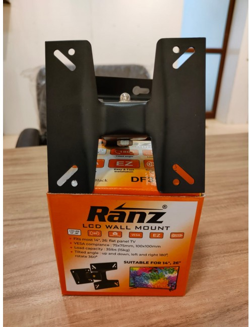 """RANZ WALL MOUNT KIT 14"""" TO 26"""" MOVEABLE"""